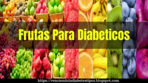 lista de frutas para diabeticos
