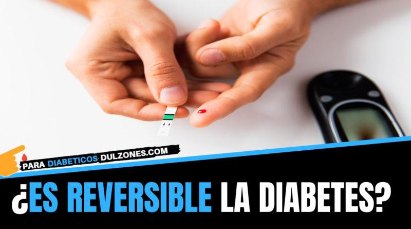 es reversible la diabetes