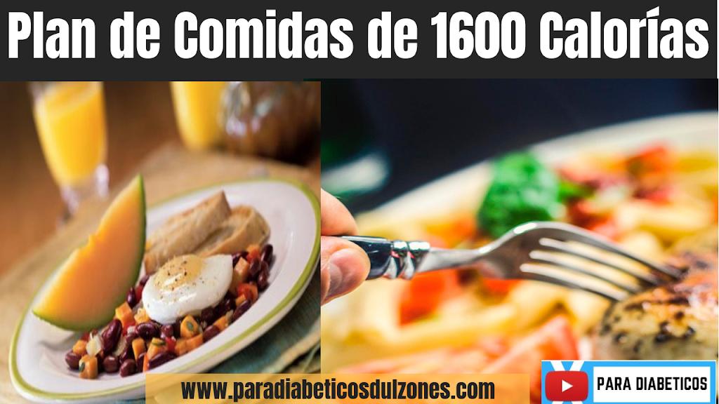 dieta de 1600 calorias al dia