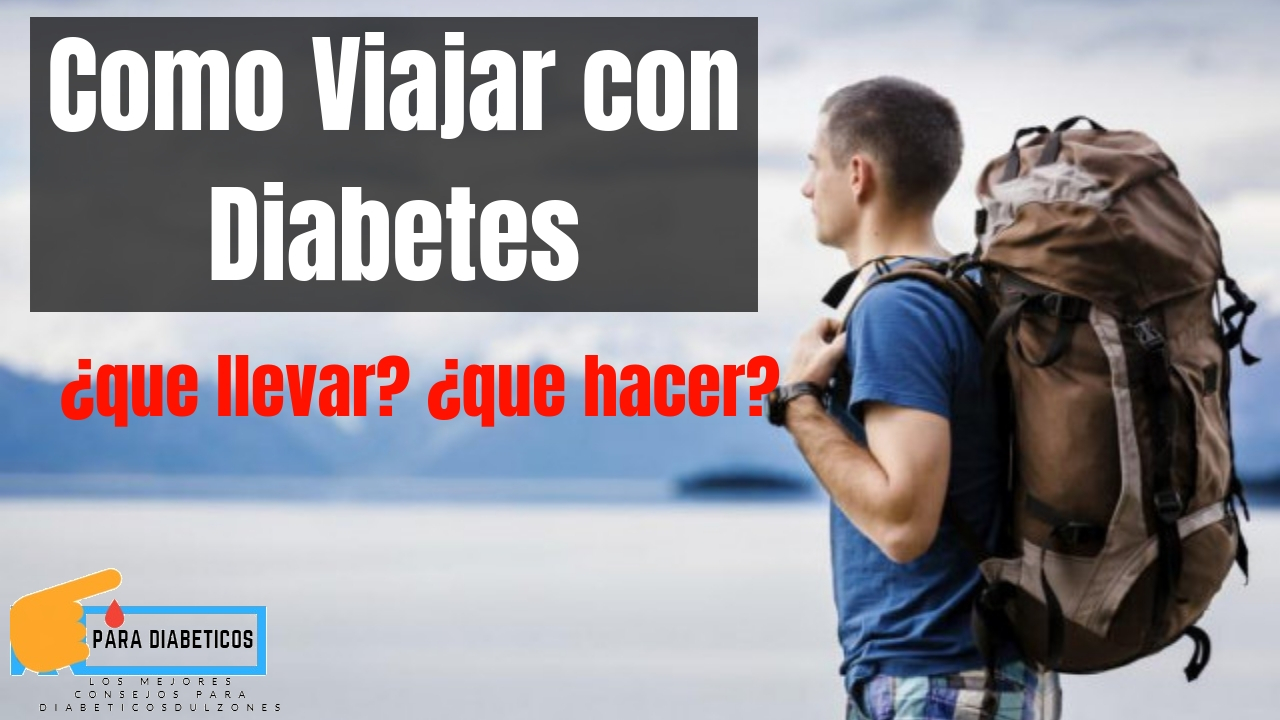 viajar con diabetes en avion