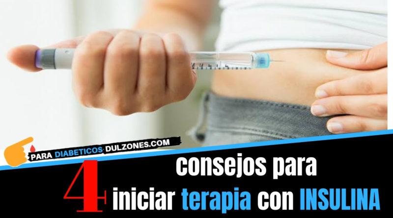 terapia con insulina