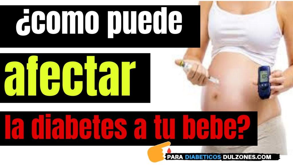como afecta la diabetes gestacional al bebe