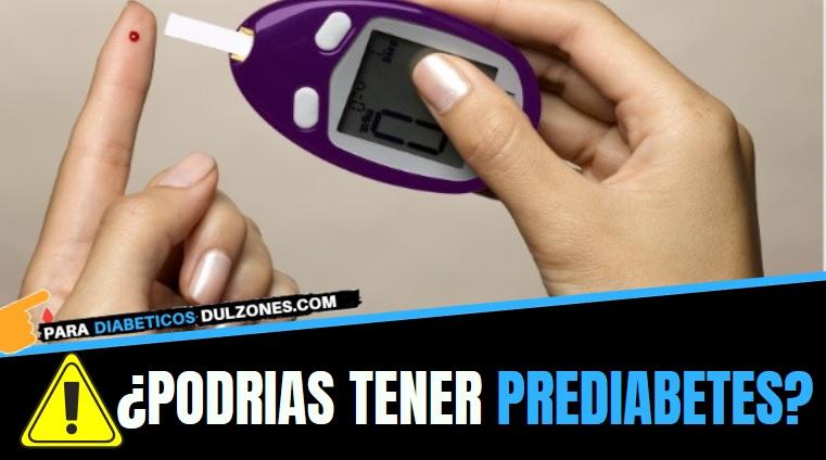 que significa tener prediabetes
