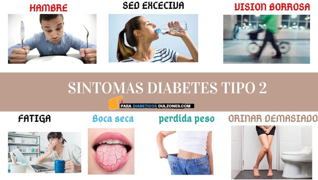 sintomas diabetes tipo 2
