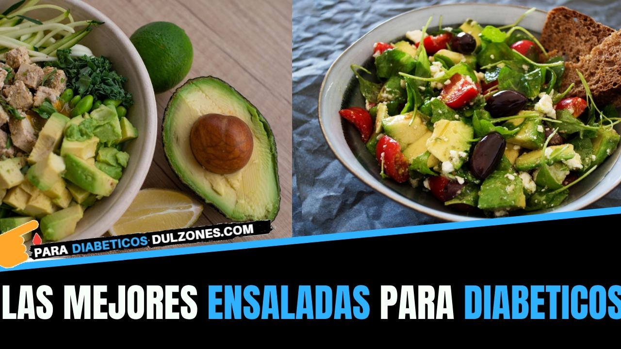 ensaladas para diabeticos