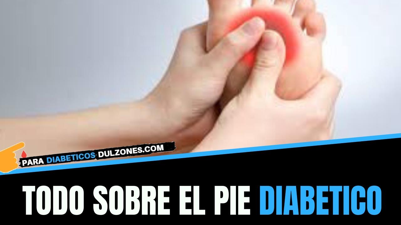 como es el pie diabetico