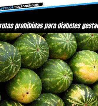 Frutas prohibidas para diabetes gestacional