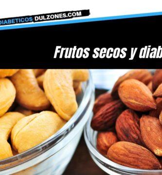 Frutos secos y diabetes