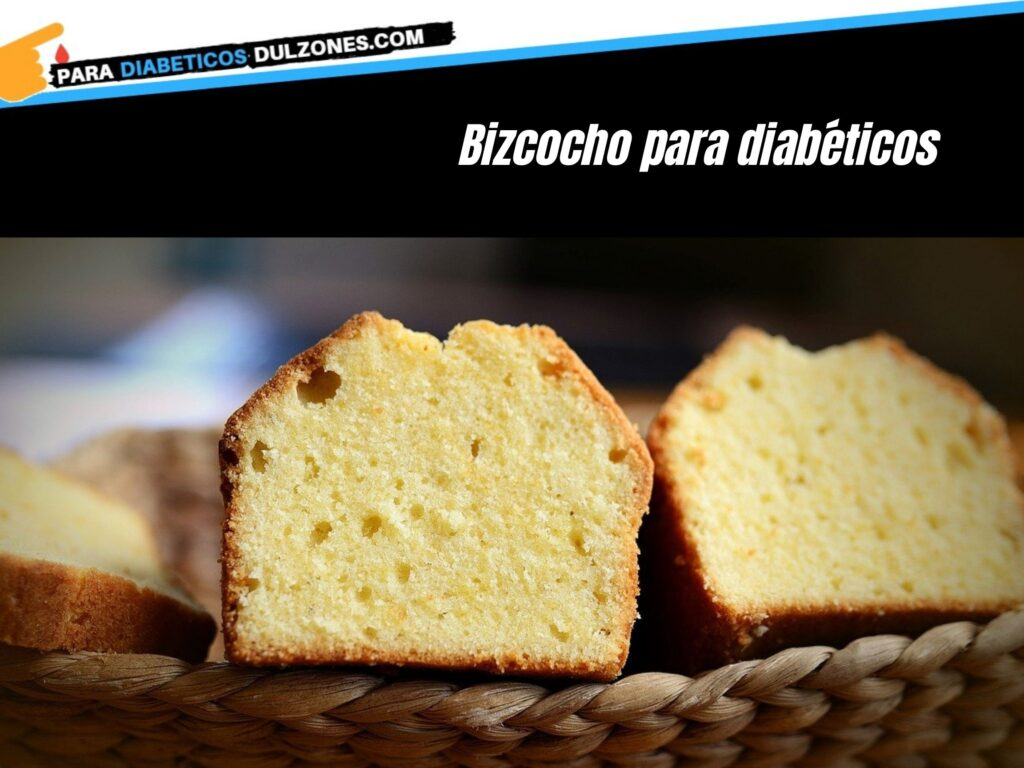bizcocho para diabéticos