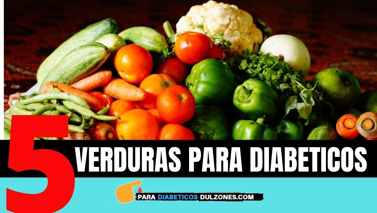 verduras para diabeticos tipo 2