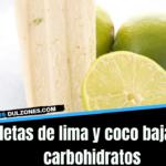 PALETA DE LIMA Y COCO