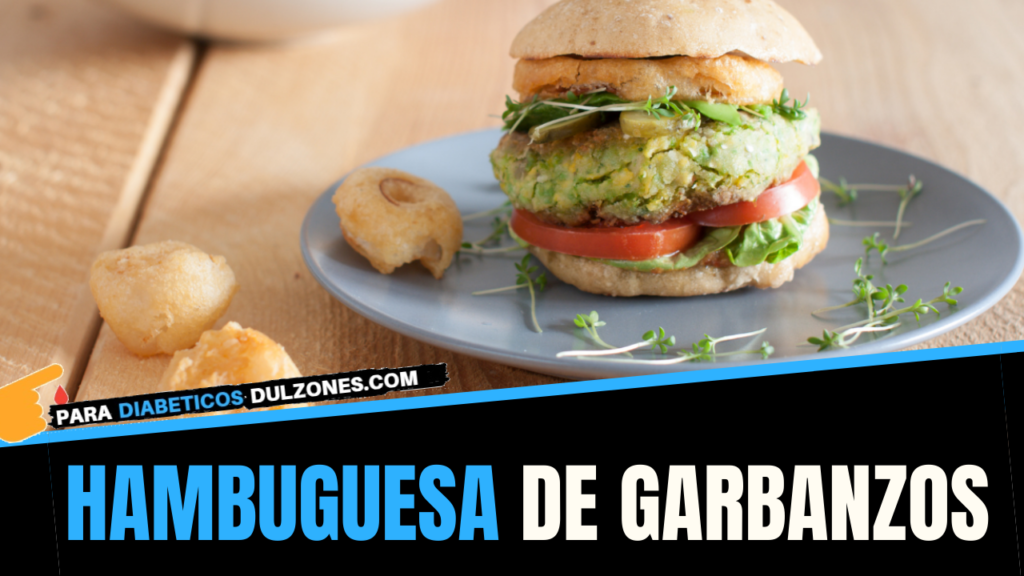 Hamburguesas de garbanzos