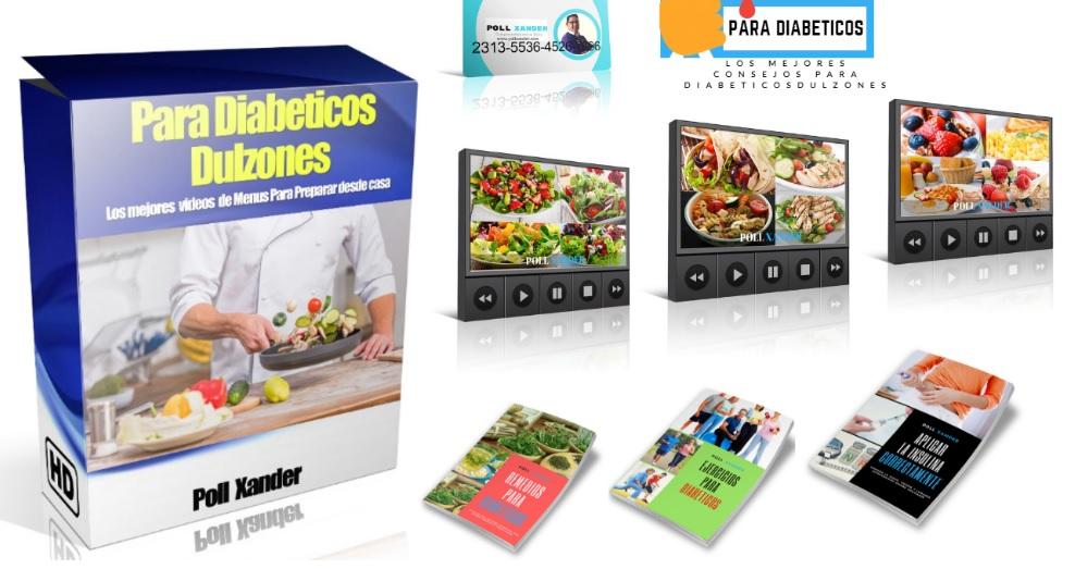 menu para diabeticos