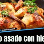pollo asado con hierbas