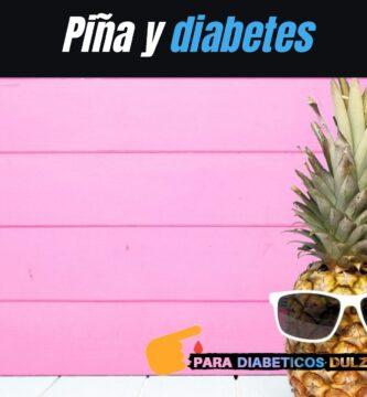 Piña y diabetes