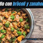 Pollo con brócoli y zanahoria